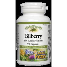 Natural Factors, Herbal Factors, 山桑子 40 mg, 90粒
