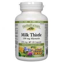 Natural Factors, Herbal Factors, Milk Thistle, 250 mg, 120 Capsules