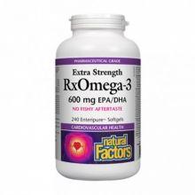 Natural Factors, 高浓度 Omega-3, 240 粒