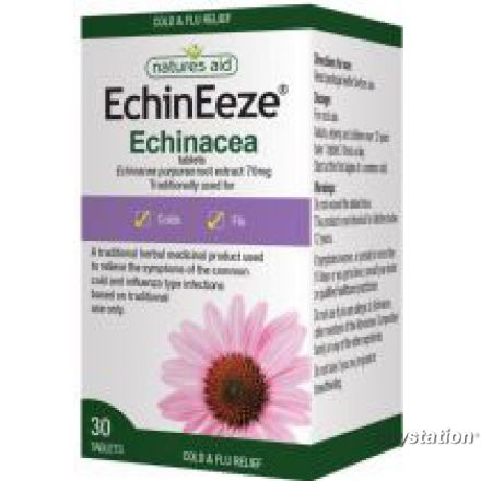 Natures Aid, EchinEeze® 紫錐花丸 70mg, 90片