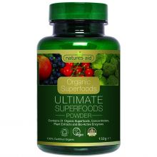 Natures Aid, Organic Ultimate Superfoods Powder, 150g