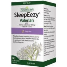 Natures Aid, SleepEezyEeze® (Valerian) 150mg, 60 Tablets