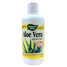 Nature's Way, Aloe Vera Leaf Gel & Juice, 1 Liter