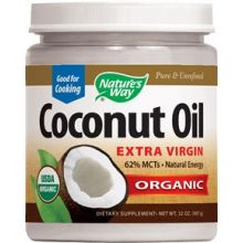 Nature's Way Organic Virgin Coconut Oil, Cold-Pressed 16 oz