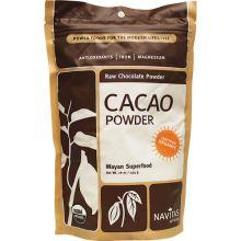 Navitas Naturals, Cacao Powder, 有机朱古力粉, 16 oz (454 g)