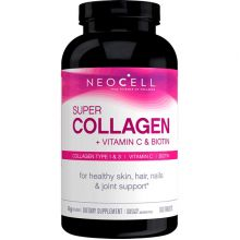 Neocell, Super Collagen + C, Type 1 & 3 (with Biotin), 360 Tablets