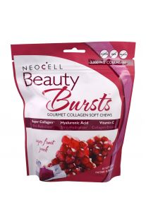 Neocell, Beauty Bursts, 水果味骨膠原軟糖 2000mg 60粒裝