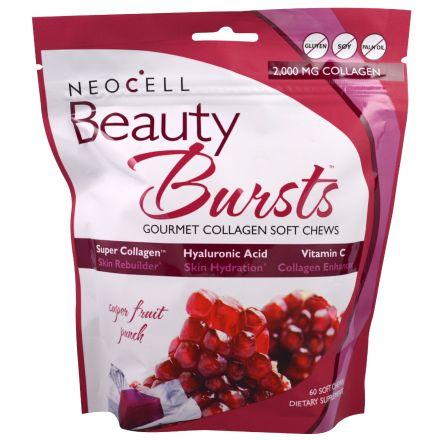Neocell, Beauty Bursts, 水果味骨膠原軟糖 2000mg 60粒裝