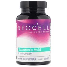 Neocell, 玻尿酸,大自然的保濕劑,60粒膠囊