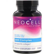 Neocell, 膠原蛋白關節複合物,含有透明質酸,2型,120粒膠囊