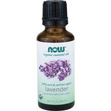 Now Organic Essential Oils, Lavender, 1 fl oz (30 ml)