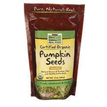 Now Foods, Organic Pumpkin Seeds - Unsalted, 12 oz.