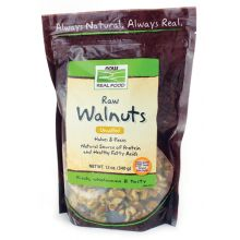 Now Foods, Raw Walnuts, Unsalted, 12 oz.