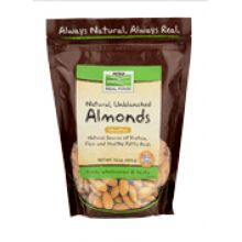 Now Foods, Natural, Unblanched Almonds, 16 oz.