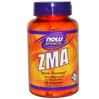 NOW Foods, ZMA 運動恢復配方, 90 粒裝