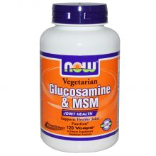NOW Foods, Glucosamine & MSM, Vegetarian, 120 Vcaps