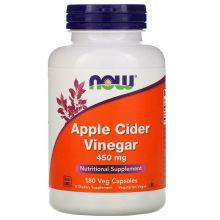 NOW Foods, 蘋果醋丸 - 450 mg, 180 粒