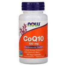NOW Foods, 輔酶Q10, 100mg, 90 粒
