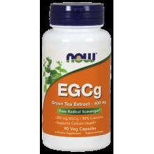 Now Foods, EGCg, Green Tea Extract, 90 Veg Capsules