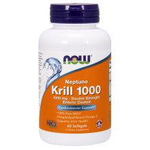 NOW Foods, Neptune Krill Oil, 1000mg, 60 Caps