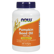 NOW Foods, Pumpkin Seed Oil, 1000mg, 100 Caps