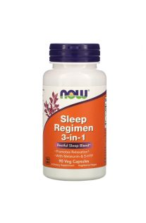 Now Foods, Sleep Regimen 3-in-1, 90 Veg Capsules