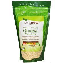 livingNOW, Certified Organic Quinoa, Whole Grain, 16 oz