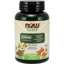 Now Foods, Pets, Cardiovascular Support Dog & Cat Supplement, 4.5-oz bottle