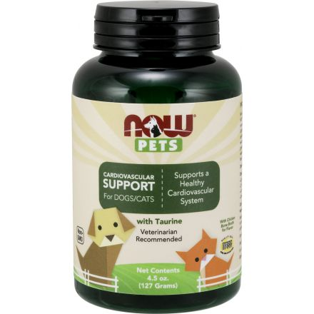 Now Foods, Pets 寵物, 貓狗心血管保健 4.5oz
