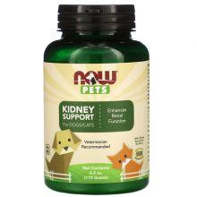 Now Foods, Pets,  Kidney Support Dog & Cat Supplement, 4.2-oz bottle