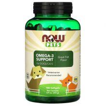 Now Foods, Pets 寵物, 奧米加-3 貓狗保健 180 粒
