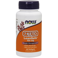 Now Foods, 7-Keto, LeanGels, Weight Management, 100 mg, 60 Softgels