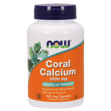 Now Foods, Coral Calcium, 1000 mg, 100 Veggie Caps