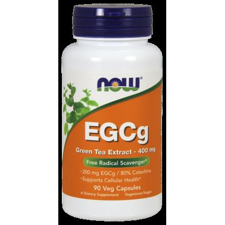 Now Foods, EGCg 綠茶素, 400mg, 90粒 素食膠囊