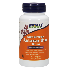 Now Foods, Extra Strength Astaxanthin, 10 mg, 60 Softgels