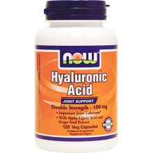 NOW Foods, Hyaluronic Acid, 100mg, 120 Caps