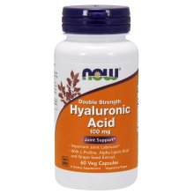 NOW Foods, Hyaluronic Acid, 100mg, 60 Caps