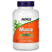 NOW Foods, 秘魯人參 (瑪卡), 500 mg, 250 粒