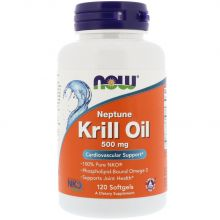 NOW Foods, Neptune Krill Oil, 500mg, 120 Caps