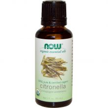 Now Foods Organic Citronella Essential Oil 30ml