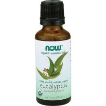 Now Foods Organic Eucalyptus Essential Oil 30ml