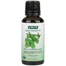 Now Foods Organic Peppermint Essential Oil 30ml