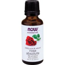 Now Foods Rose Absolute Essential Oil - Blend 30ml