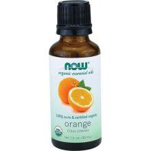 Now Essential 有機甜橙精油, 1 fl oz (30 ml)