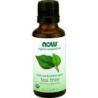 Now Essential 有機茶樹精油, 1 fl oz (30 ml)
