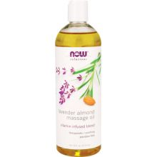 Now Solutions, Lavender Almond Massage Oil, 16 fl oz