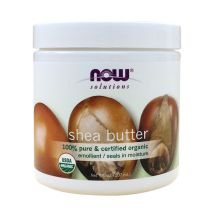 Now Solutions, Organic Shea Butter, 7 fl oz (207 ml)