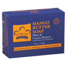 Nubian Heritage, Mango Butter Soap, Shea & Cocoa Butters With Honey & Cornmeal, 5 oz (141 g)