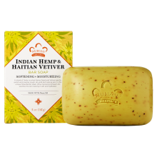 Nubian Heritage, Indian Hemp & Haitian Vetiver Soap, With Neem Oil, 5 oz (141 g)