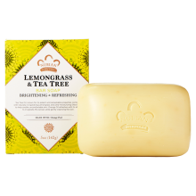 Nubian Heritage, Lemongrass & Tea Tree Soap, With Orange Peel, 5 oz (141 g)